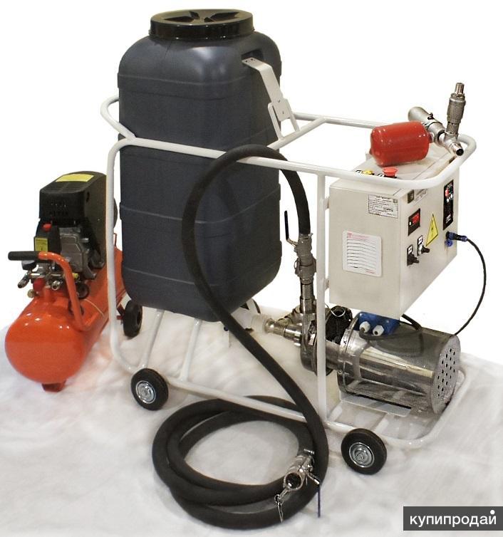 Оборудование для промывки теплообменников, котлов