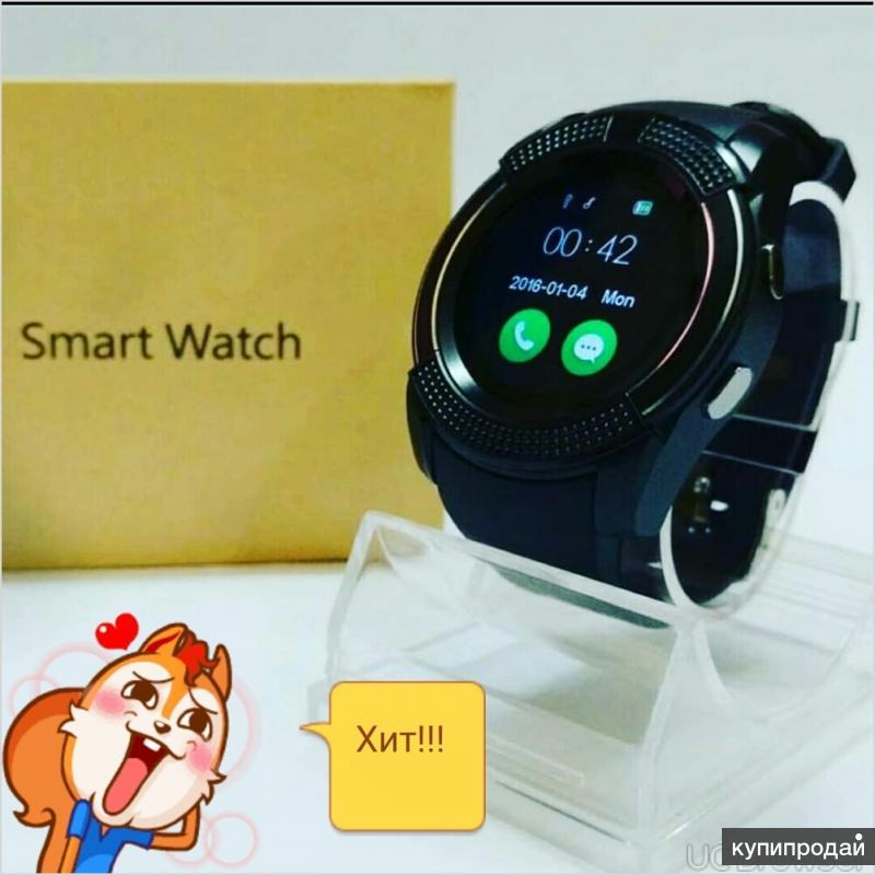 Smart watch v8 слот под симку и флешку!!!
