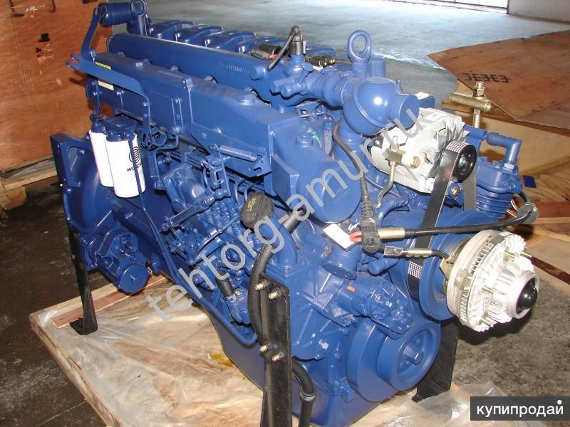 Двигатель Weichai WP10.340E32 Евро-2 340 л/с SHAANXI