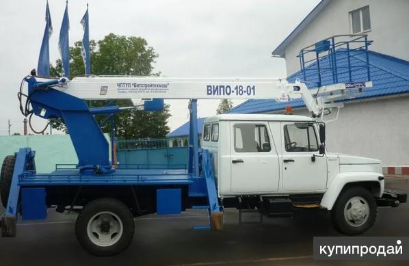 Автогидроподъемник ВИПО-18-01 на шасси ГАЗ-33098