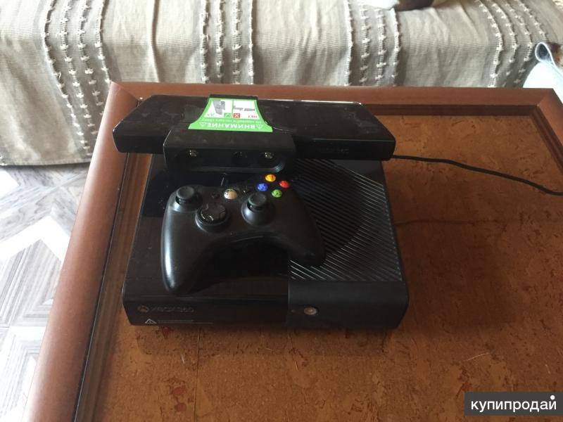 Xbox 360 E+Kinect 250 гб