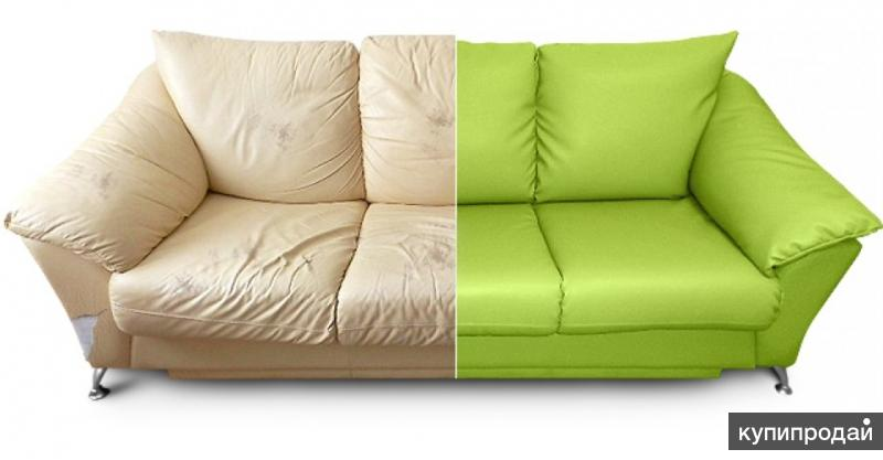 Перетяжка дивана калининград