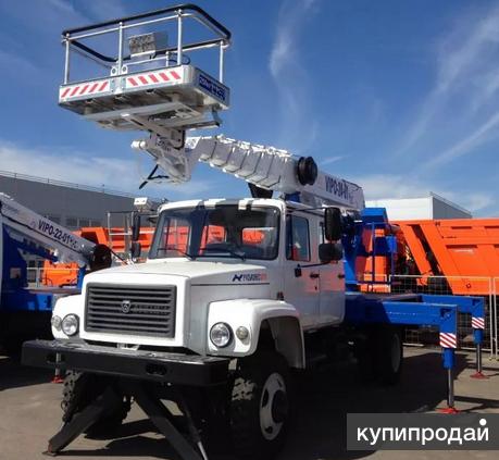 Автогидроподъемник ВИПО-22-01 на шасси ГАЗ-33098