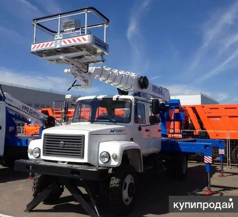 Автогидроподъемник ВИПО-22-01 на шасси ГАЗ-33086