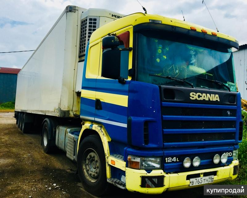 Продам тягач SCANIA R420