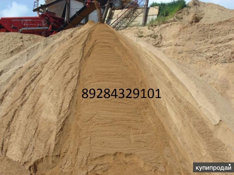 Песок оптом от 20 кубов