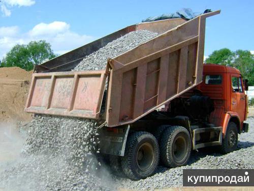Гравий 6450р / 5 тонн