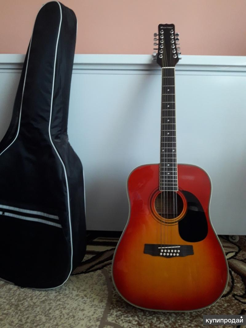 Продам новую 12-струнную гитару