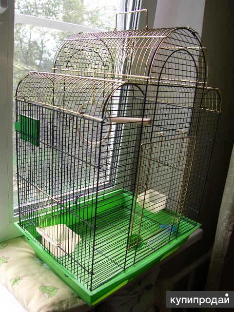 Клетка для птиц 46х36х65 д/ш/в