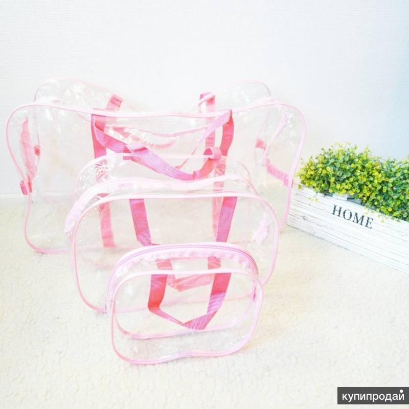 сумки ПВХдля формирования наборов в роддом