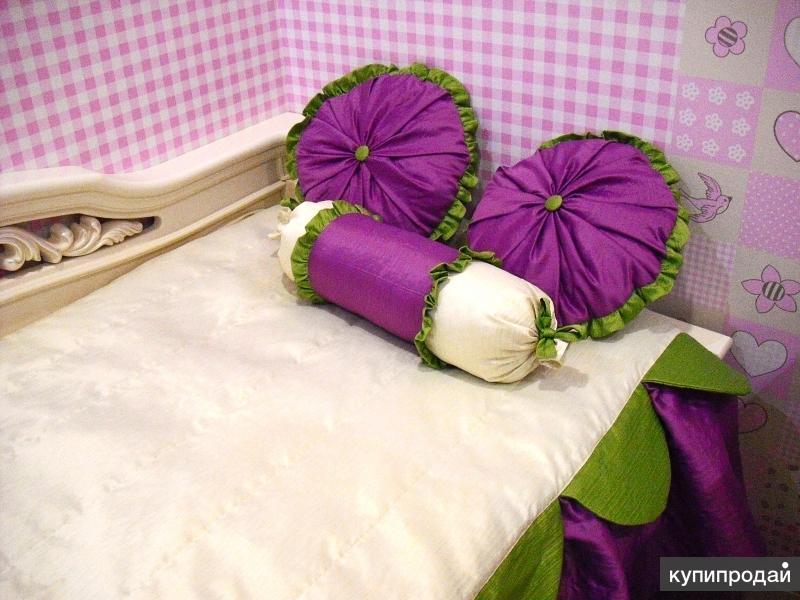 Пошив покрывал и декоративных подушек