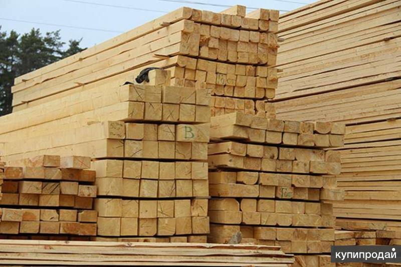 Пиломатериалы свежие напрямую со склада сосна/ель, от 2600р/м.куб.