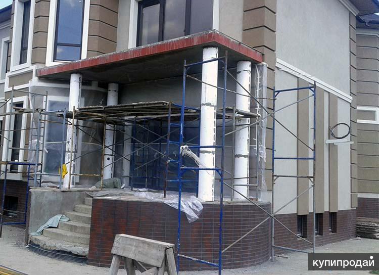 Мокрый фасад - утепление и декоративная штукатурка стен Пенза