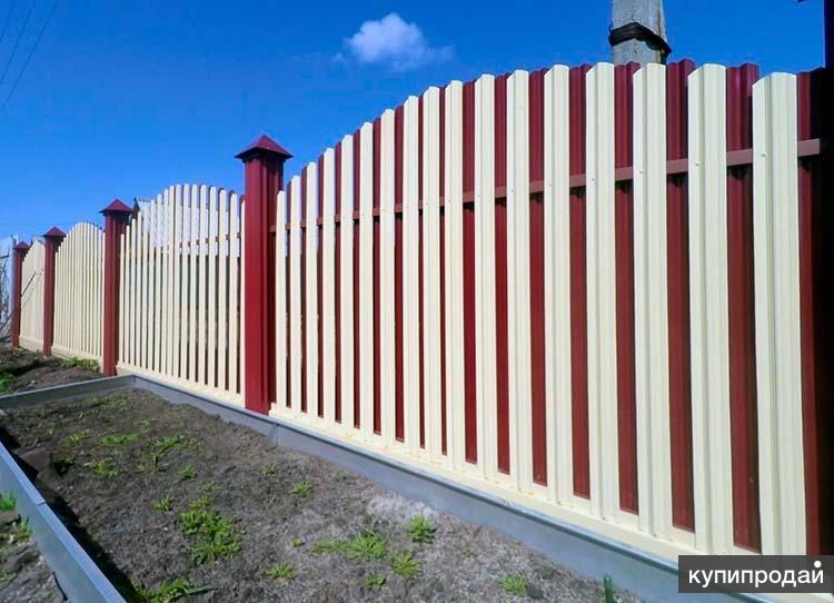 Забор для дома, дачи, участка в Пензе