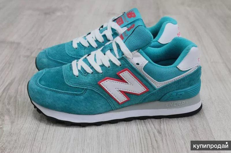 Новые NB (натур. замша) 36, 37 р-ра кроссовки New Balance