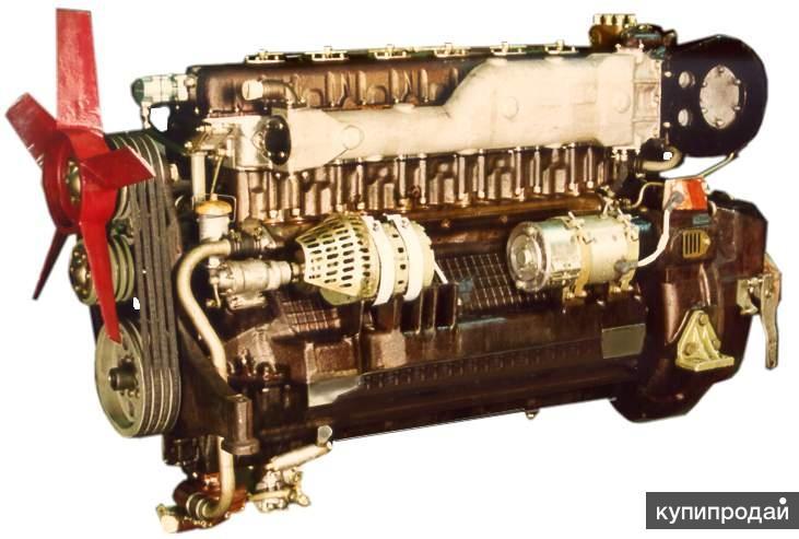 Двигатель дизельный 1Д6Н-250С2 (У1Д6-250) тепловозов, буровой техники