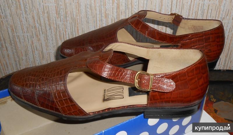 Туфли женские новые, натуральная кожа