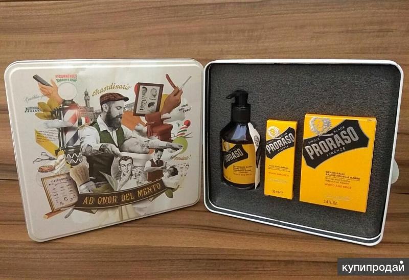 "Подарочный набор для бороды Proraso "" Wood and Spice """
