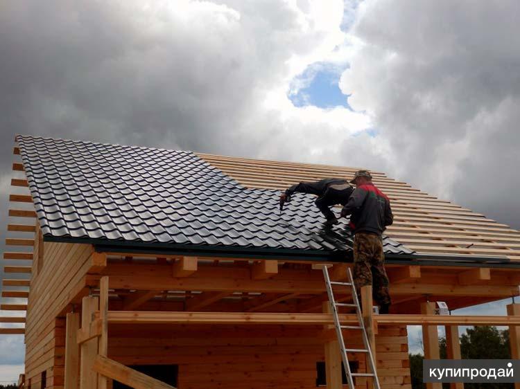 Монтаж крыши с металлочерепицей, профнастилом, заборы Пенза