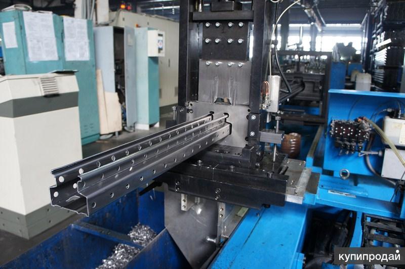 Линия для производства  металлического стоечного профиля