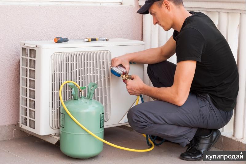 Ремонт и обслуживание кондиционеров, систем отопления, вентиляции