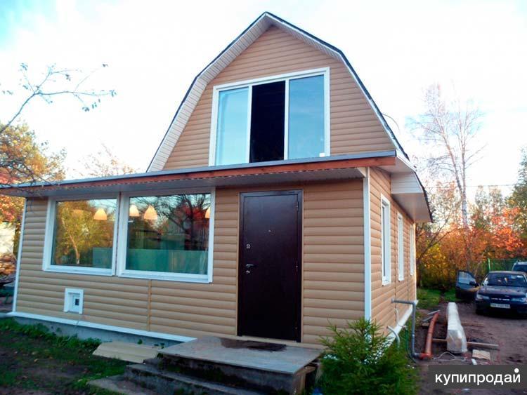 Садовые дачные домики, хозблоки, заборы под ключ в Пензе и пригороде