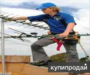 Антенны эфирные, спутниковые, РЕМОНТ,УСТАНОВКА