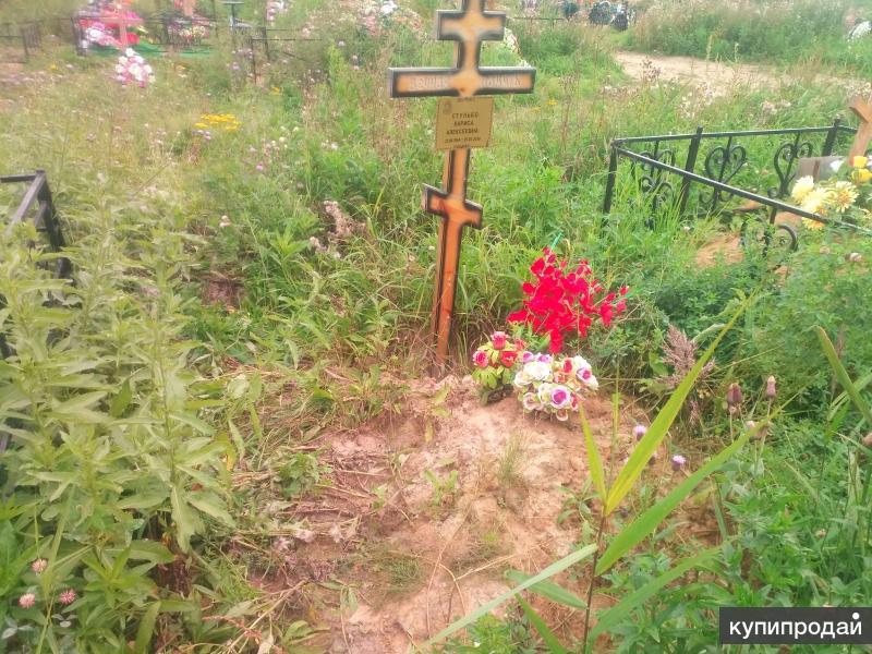 Изготовление и установка на кладбище могильных элементов.