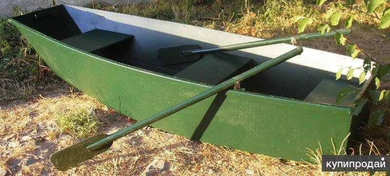 Лодка 2-х местная, материал - водостойкая фанера