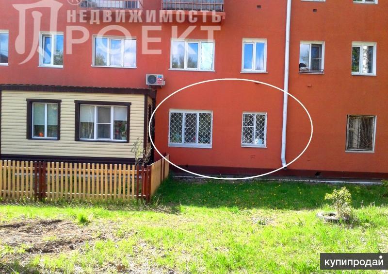 отличная цена 1-к квартиры в Омске, 29 м2, 1/3 эт.