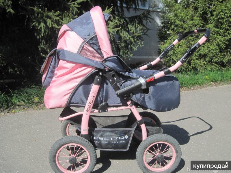 коляска 3в1 Bebetto Baby Collection