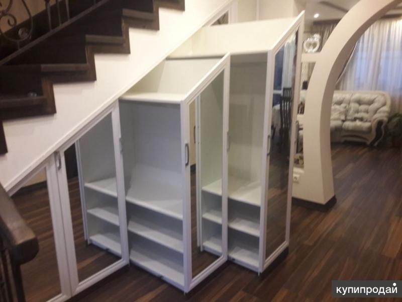 Шкафы купе, изготовление по индивидуальному дизайну