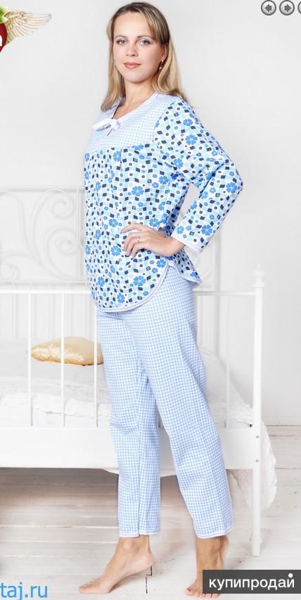 Теплая пижама оптом от производителя «Ева», г. Иваново
