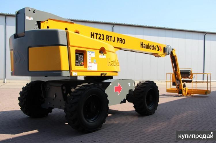 Телескопический подъемник Haulotte HT23 RTJ PRO