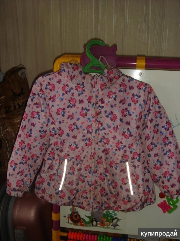 Демисезонный костюм куртка, брюки размер 98-104 см (2-4 года)