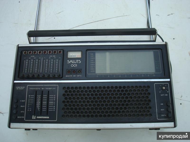 продам раритетное радиола +приемник SALUTS 001 СССР  1960г