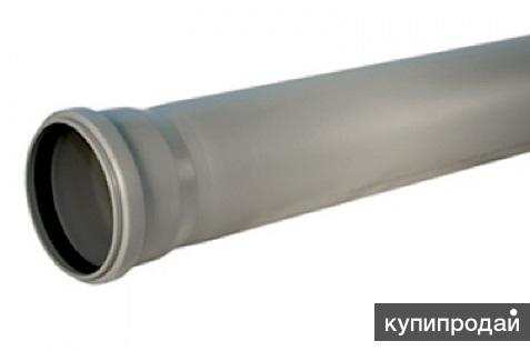 Труба Дн 110х1000х2,7 мм канализационная