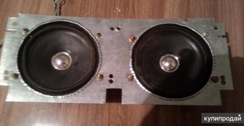 Пара динамиков 5 ГДШ-6-8 вместо кассет