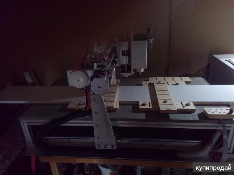 Фрезерный станок с ЧПУ дерево-цветные металлы