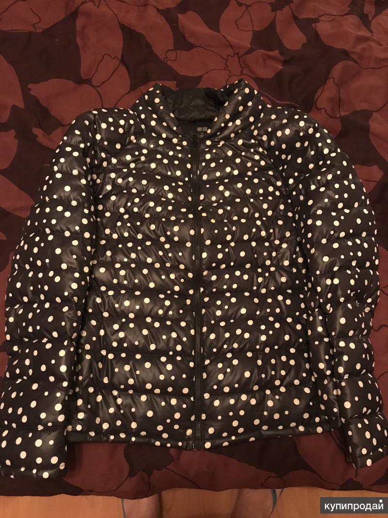 Куртка женская Uniqlo весна-осень (XL)