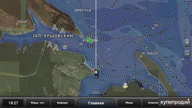 оз.Байкал и Иркутское вдхр.