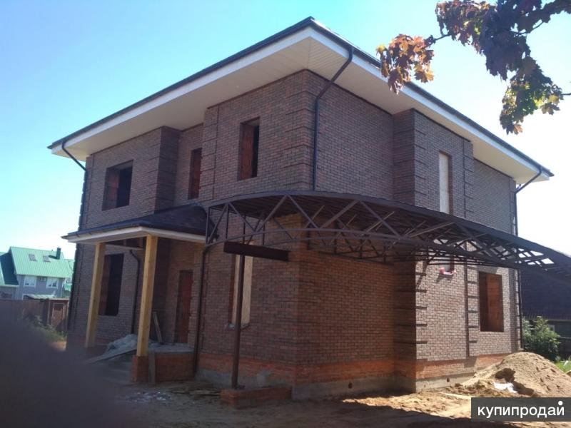 Комплексное строительство домов, все виды работ под ключ.