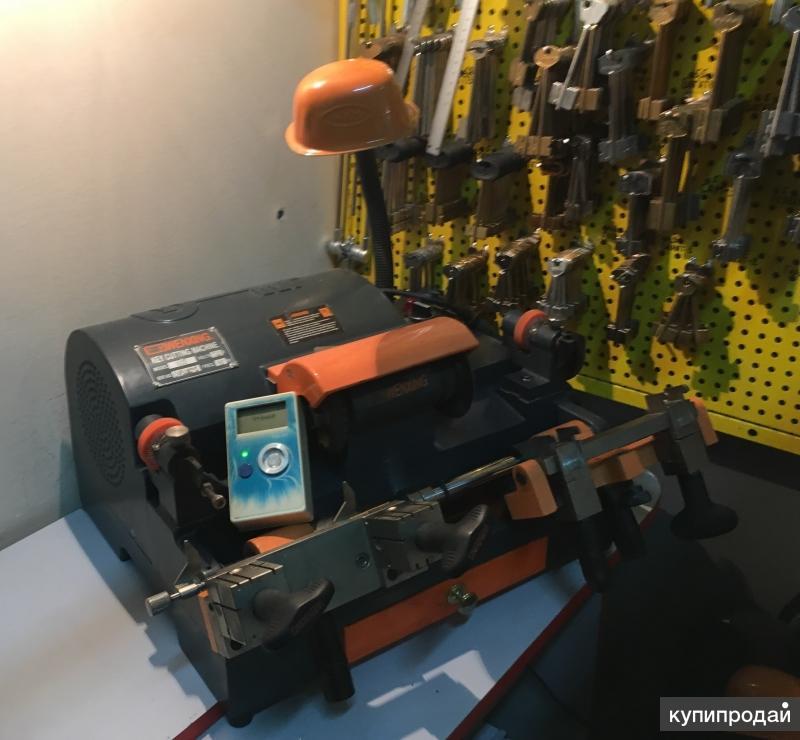 Станок для изготовления ключей wenxing 100g