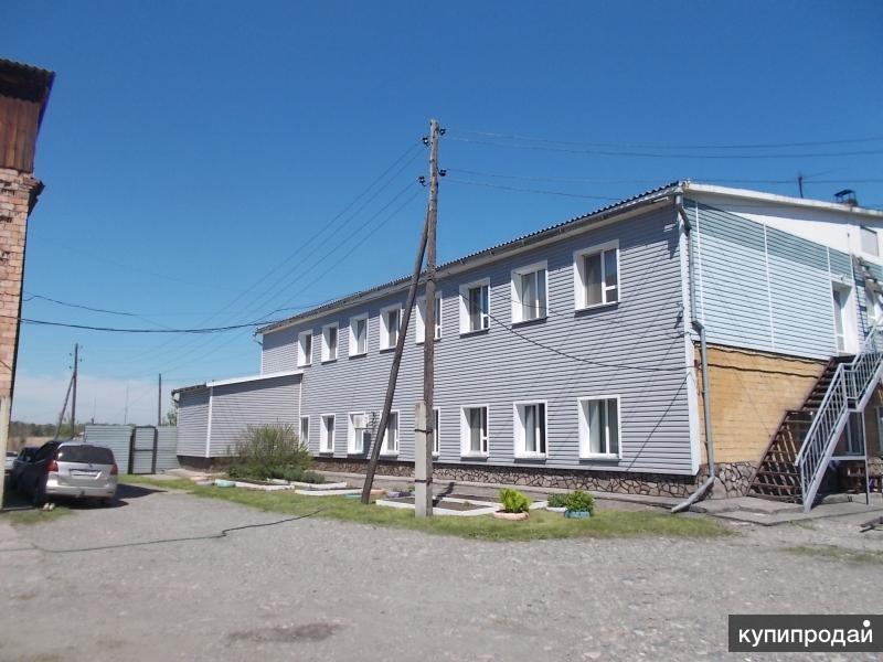 Продам здания: офисное, гаражные боксы, сауну
