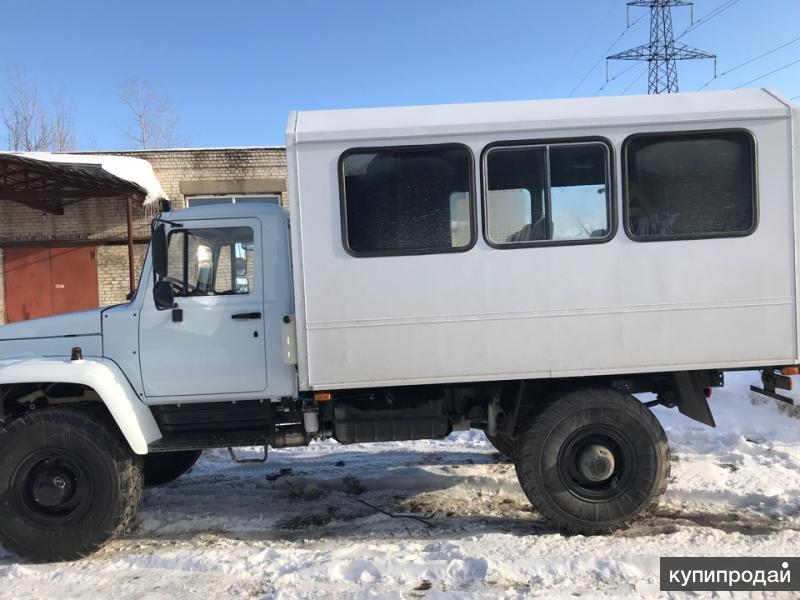 Вахтовый автобус газ 33088