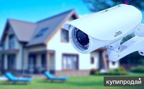 Монтаж систем видеонаблюдения, контроля доступа «под ключ»