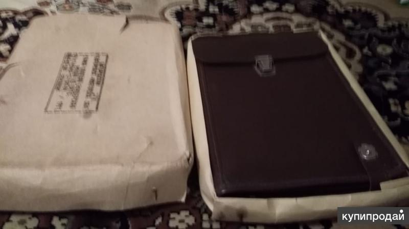 Офицерская сумка -планшет коричневая