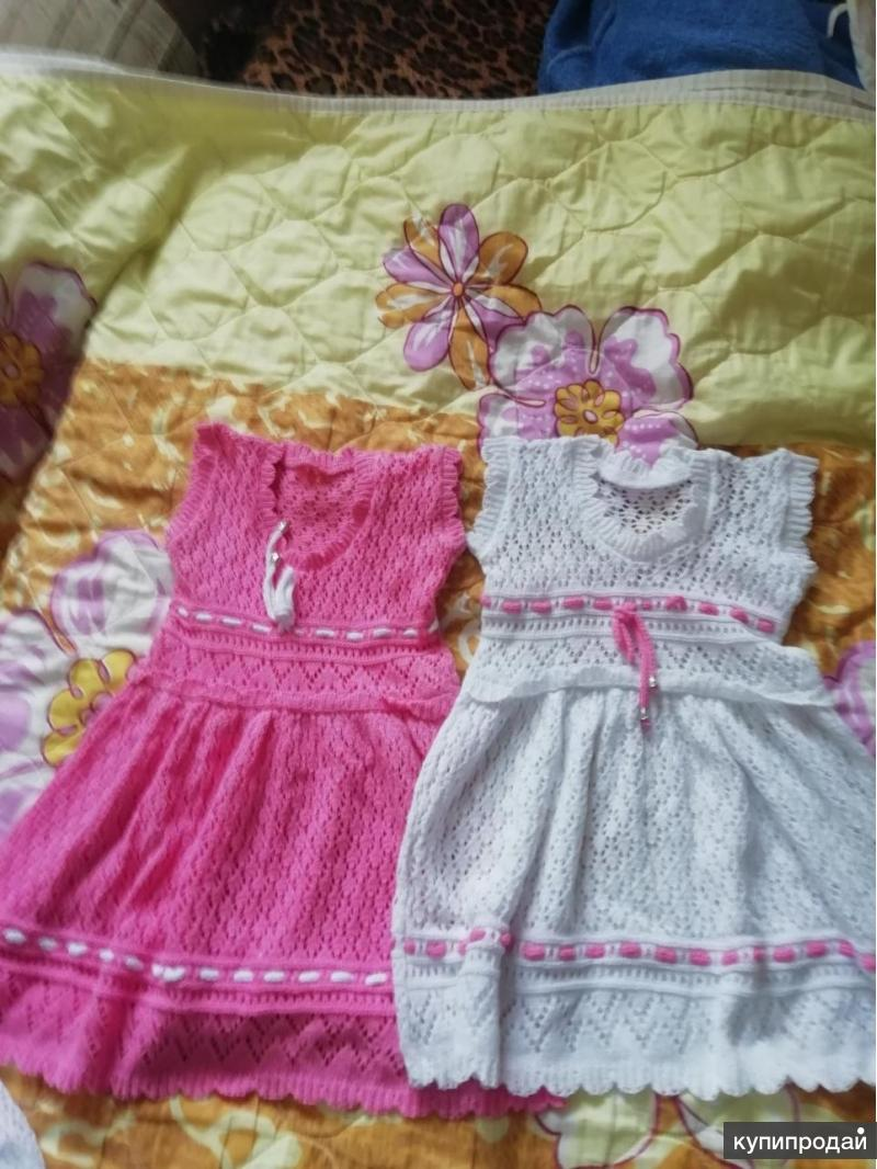 Продам детские ажурные платья для девочек