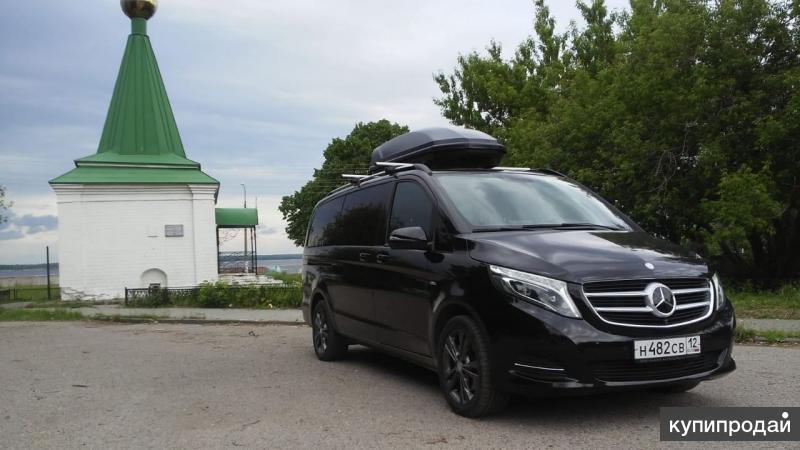 Аренда Mercedes V-класса с водителем