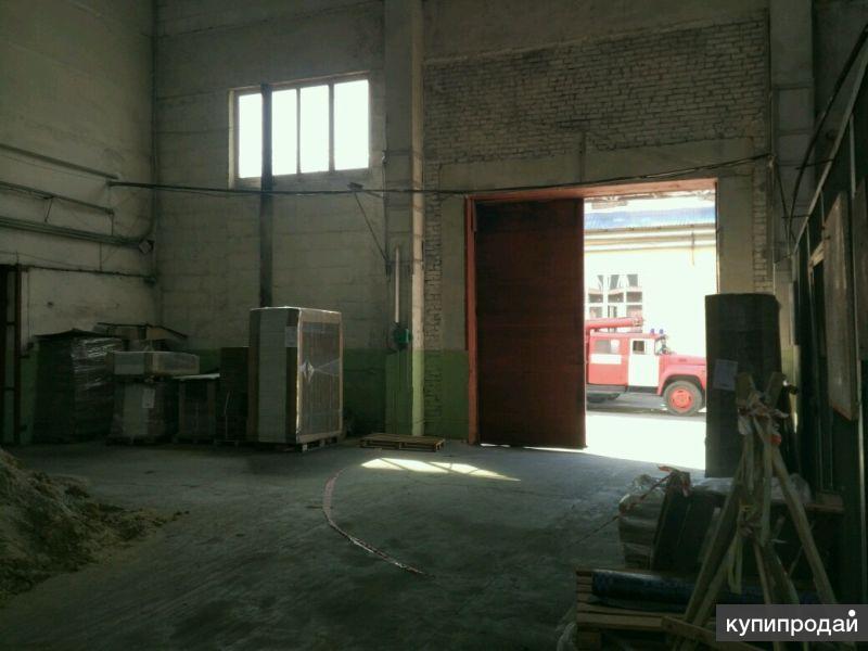 Сдается производственно складское помещение 380м2 на улице баумана.